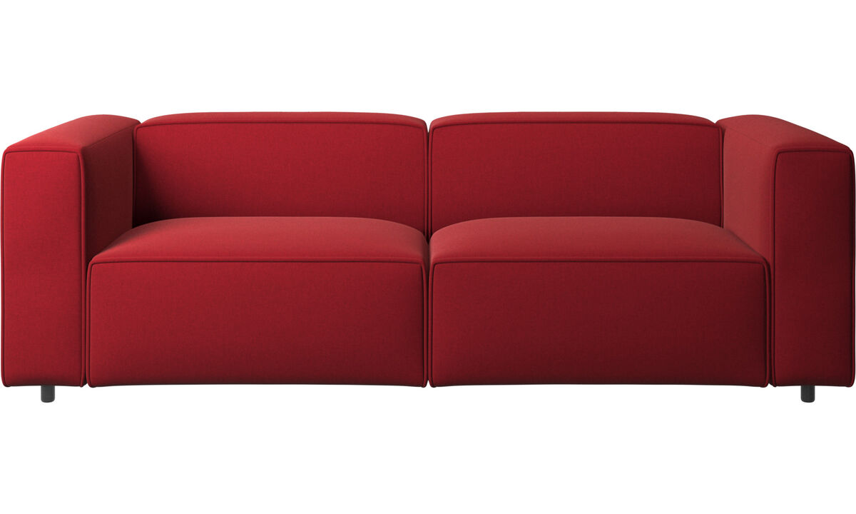 2½ personers sofaer - Carmo sofa - Rød - Stof