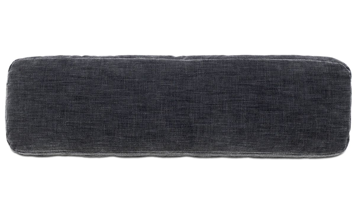 Sofa accessories - Hampton cushion - Grey - Fabric