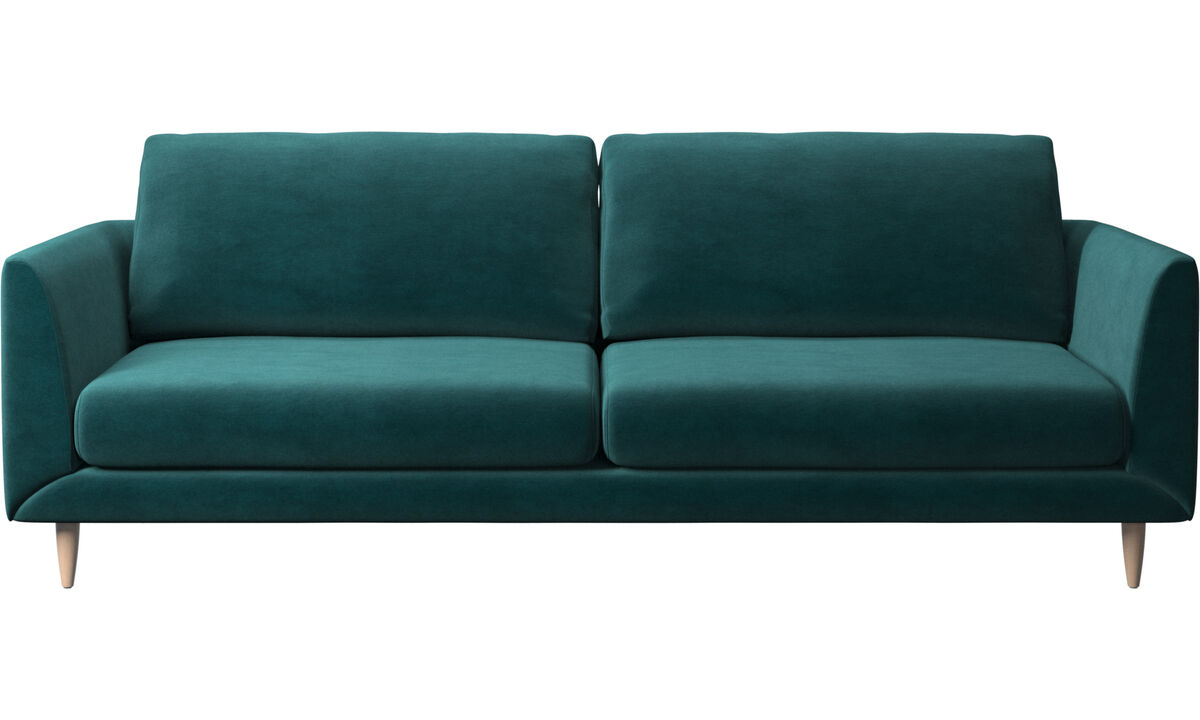 3 seater sofas - Fargo sofa - Blue - Fabric