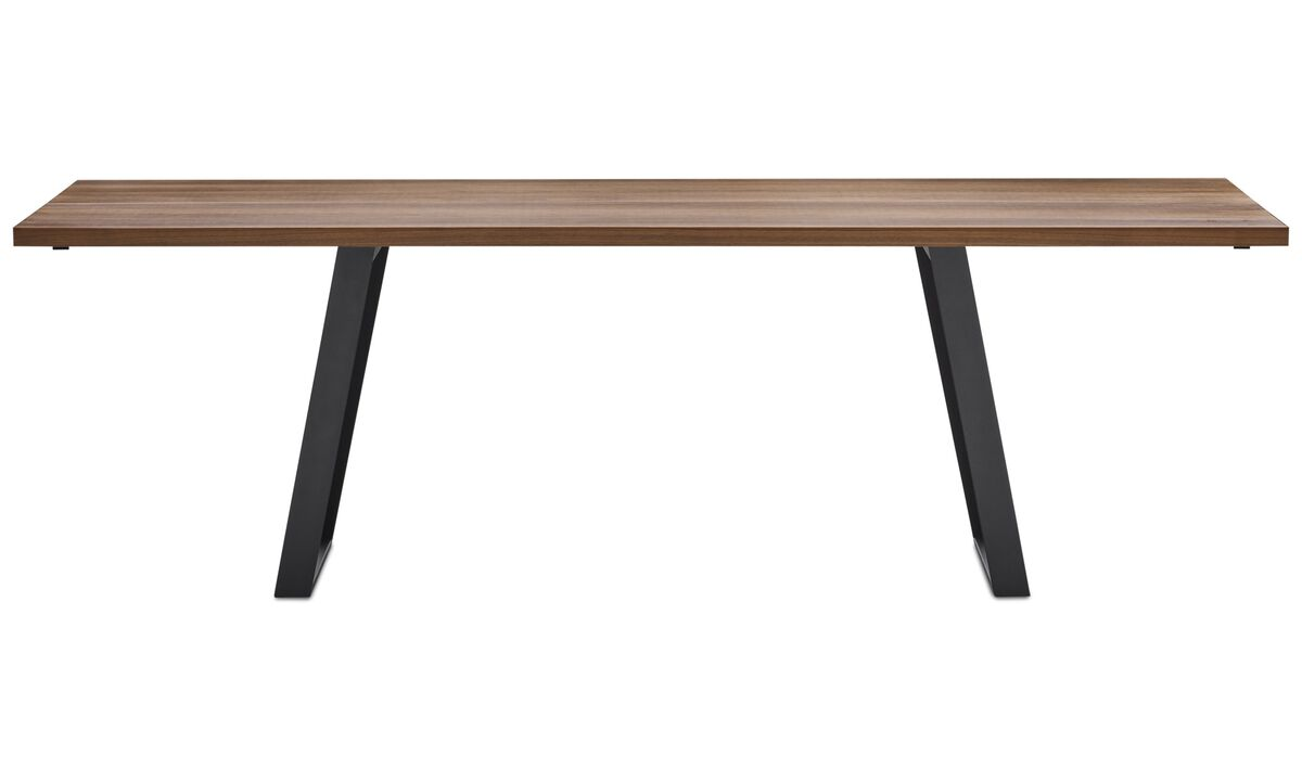 Dining tables - Vancouver tavolo - quadrata - Marrone - Noce