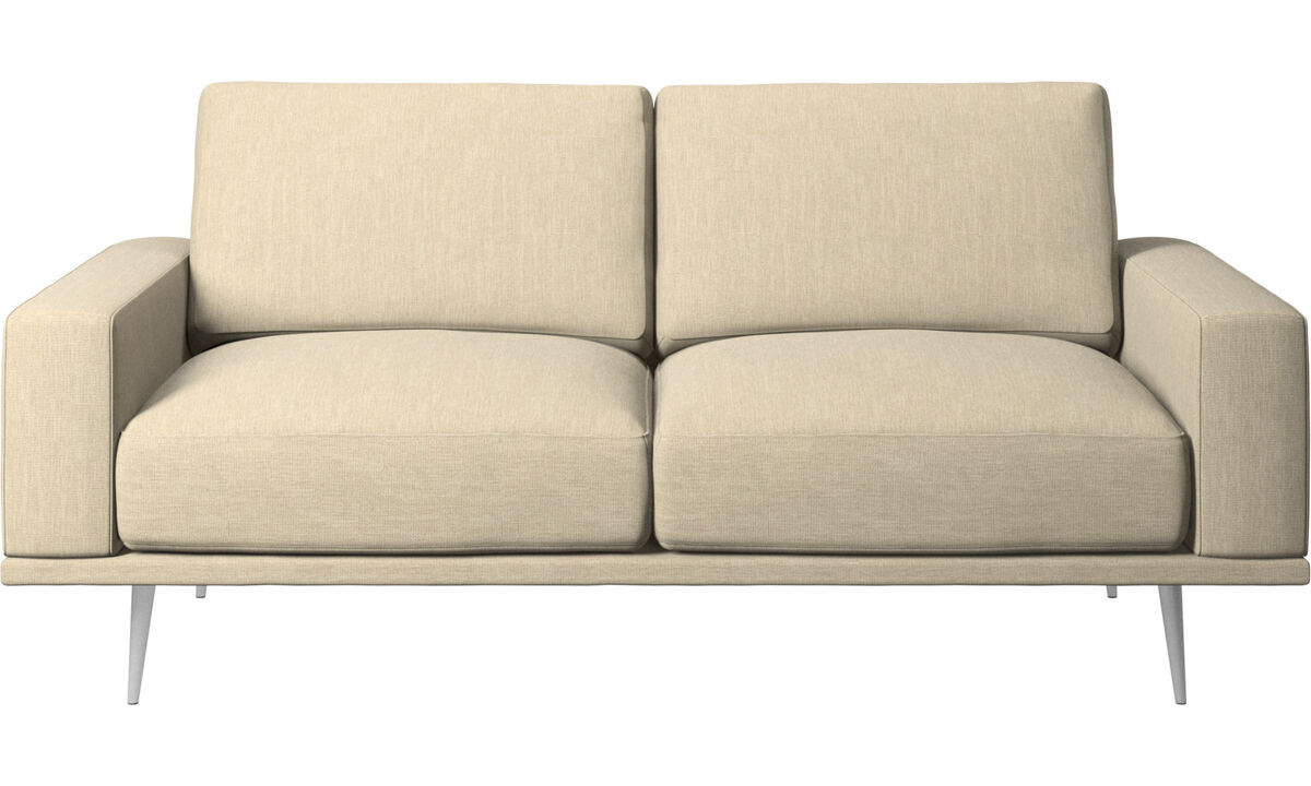 2 seater sofas - Carlton sofa - Brown - Fabric
