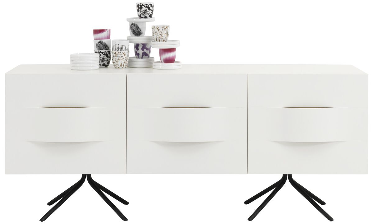 New designs - Ottawa sideboard - White - Lacquered