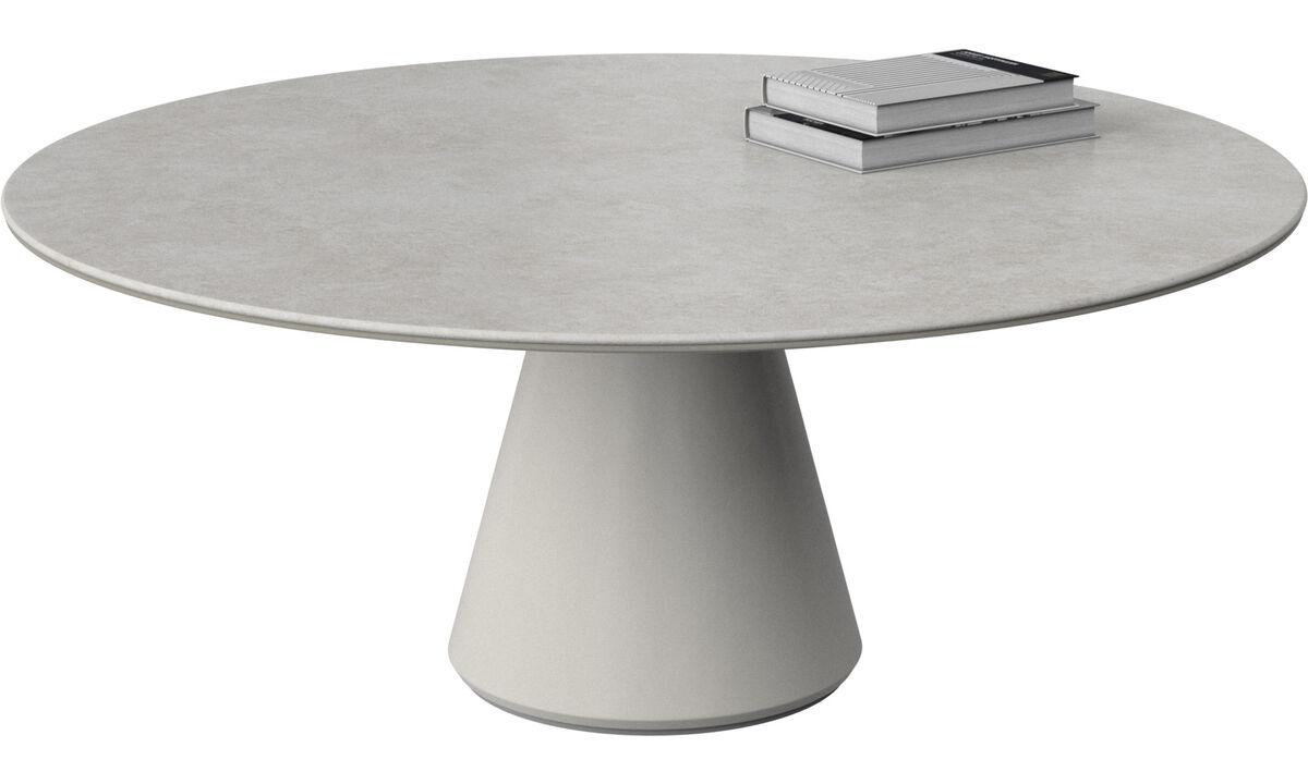 Mesas de centro - mesa de centro Madrid - redondo - En gris - Cerámica