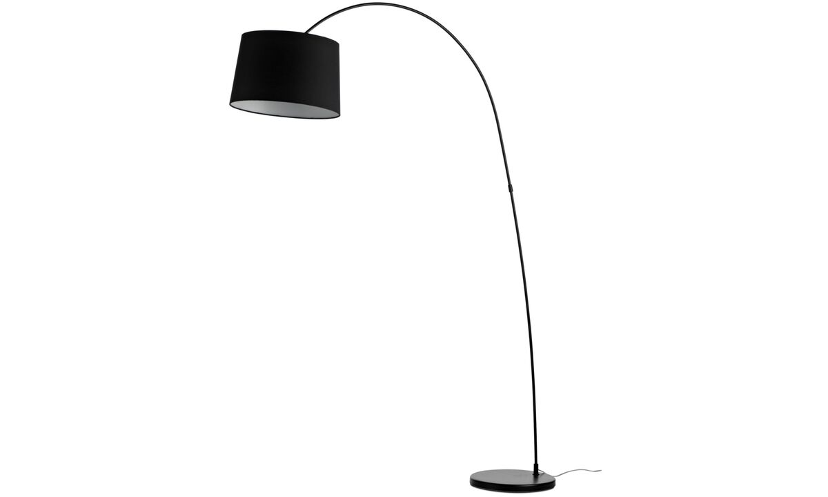 Lamps - Kuta floor lamp - Black - Metal