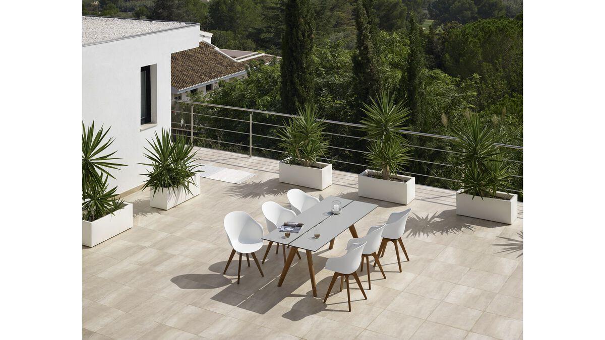 gartentische adelaide tisch f r den innen und. Black Bedroom Furniture Sets. Home Design Ideas