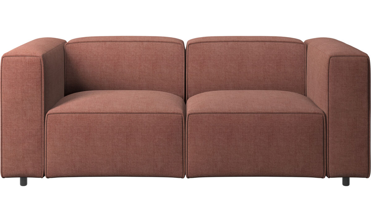 Modular sofas - Carmo sofa - Red - Fabric