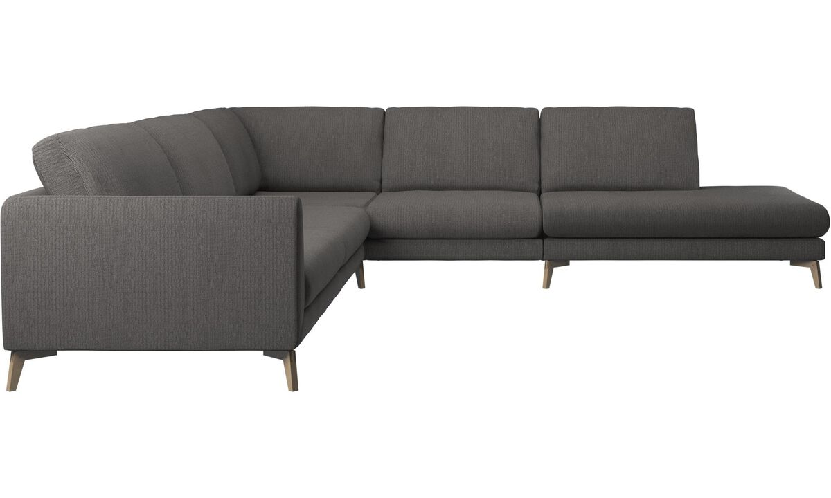 sofa fargo ecksofa mit loungemodul boconcept. Black Bedroom Furniture Sets. Home Design Ideas