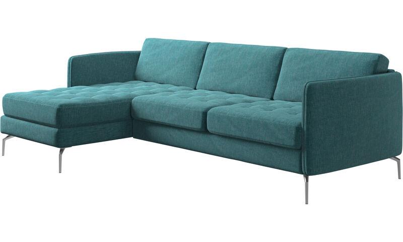 Chaise longue sofas - Osaka sofa with resting unit, tufted seat ...