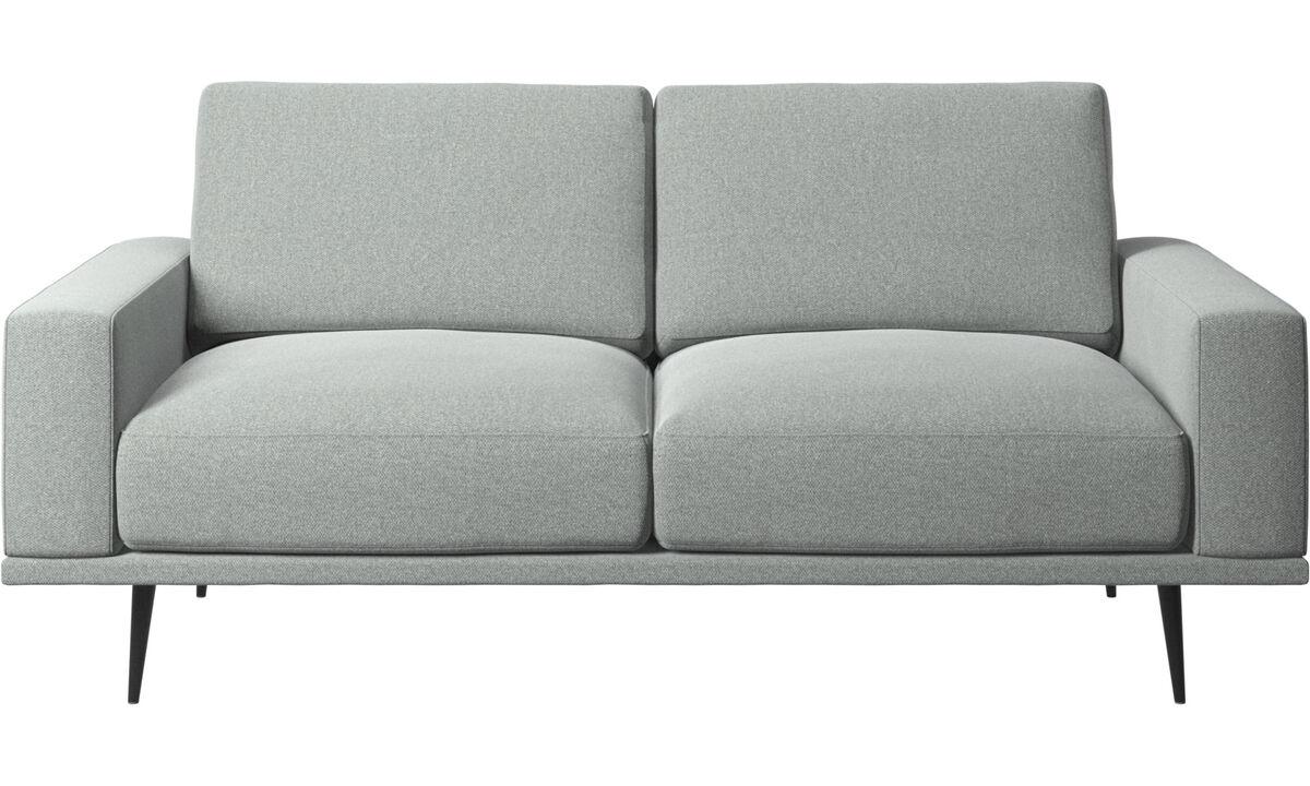 2-sitzer Sofas - Carlton Sofa - Grau - Stoff