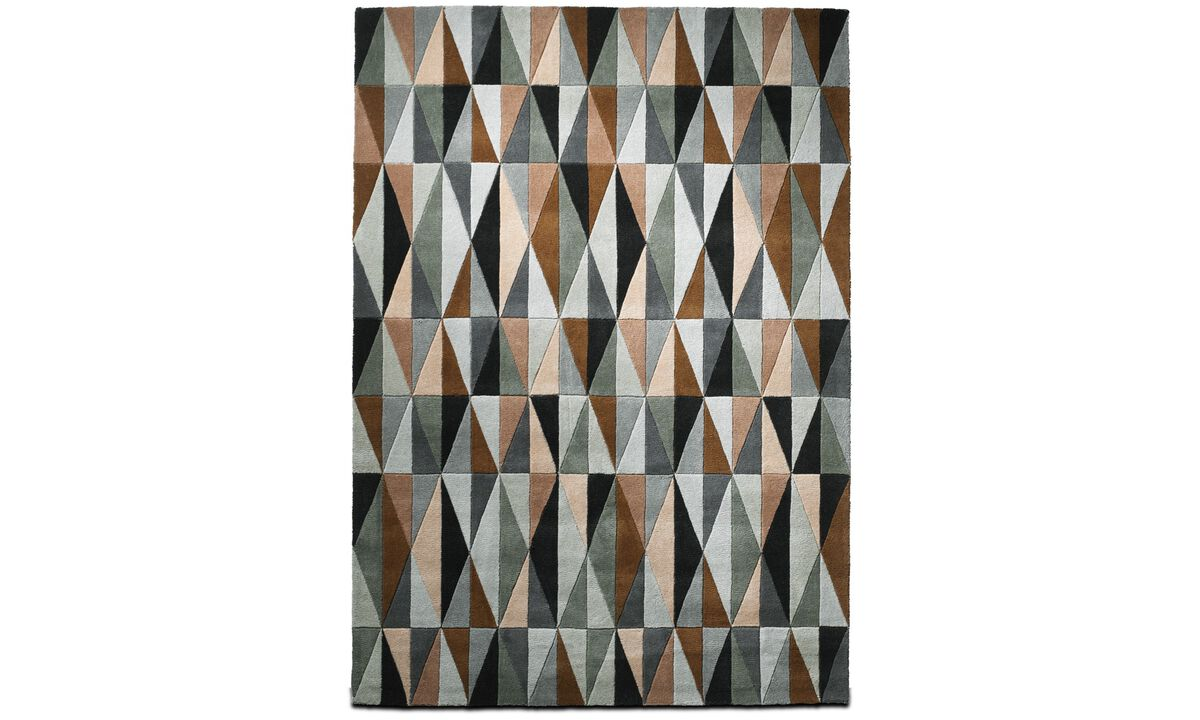 Rugs - Classic rug - rectangular - Beige - Fabric