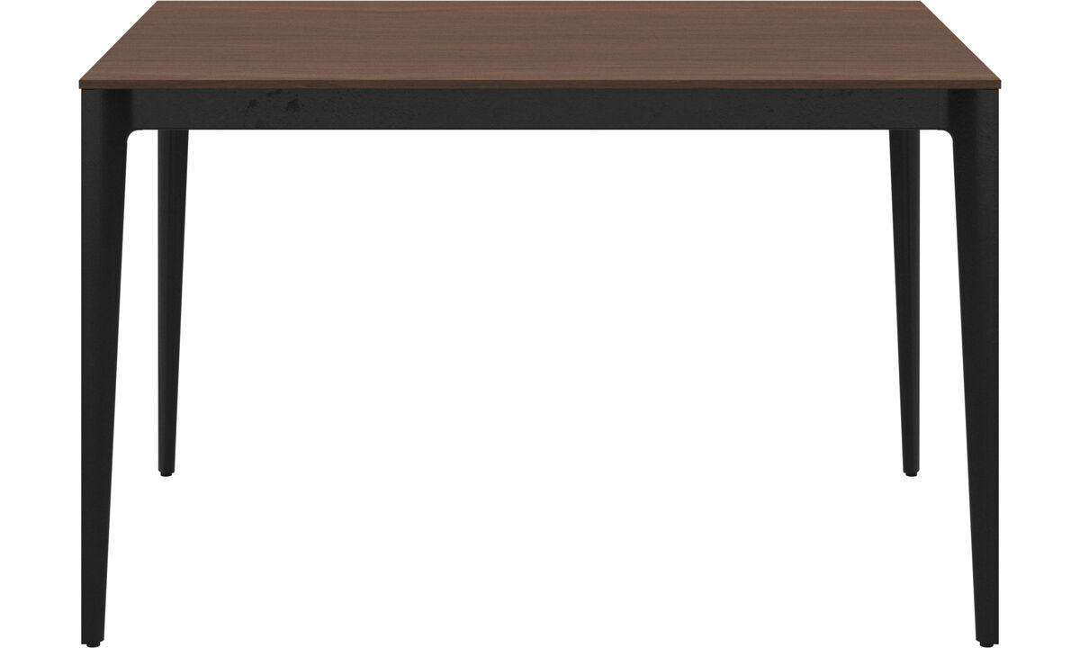 Mesas de comedor - Mesa Torino - rectangular - En marrón - Nogal