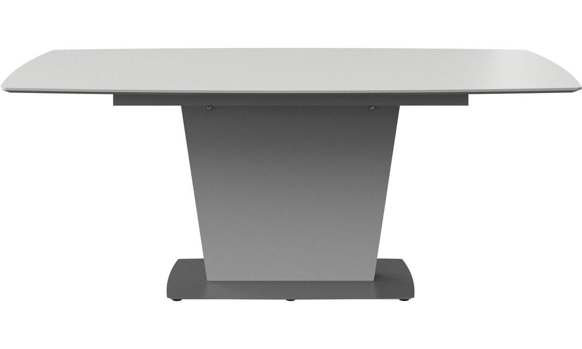 Mesas de jantar - Mesa Milano - rectangular - Branco - Lacado