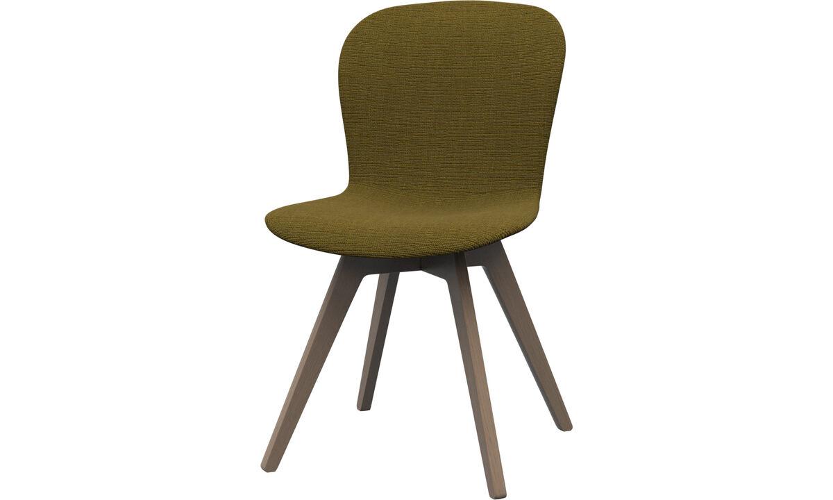 Chaises - chaise Adelaide - Jaune - Tissu