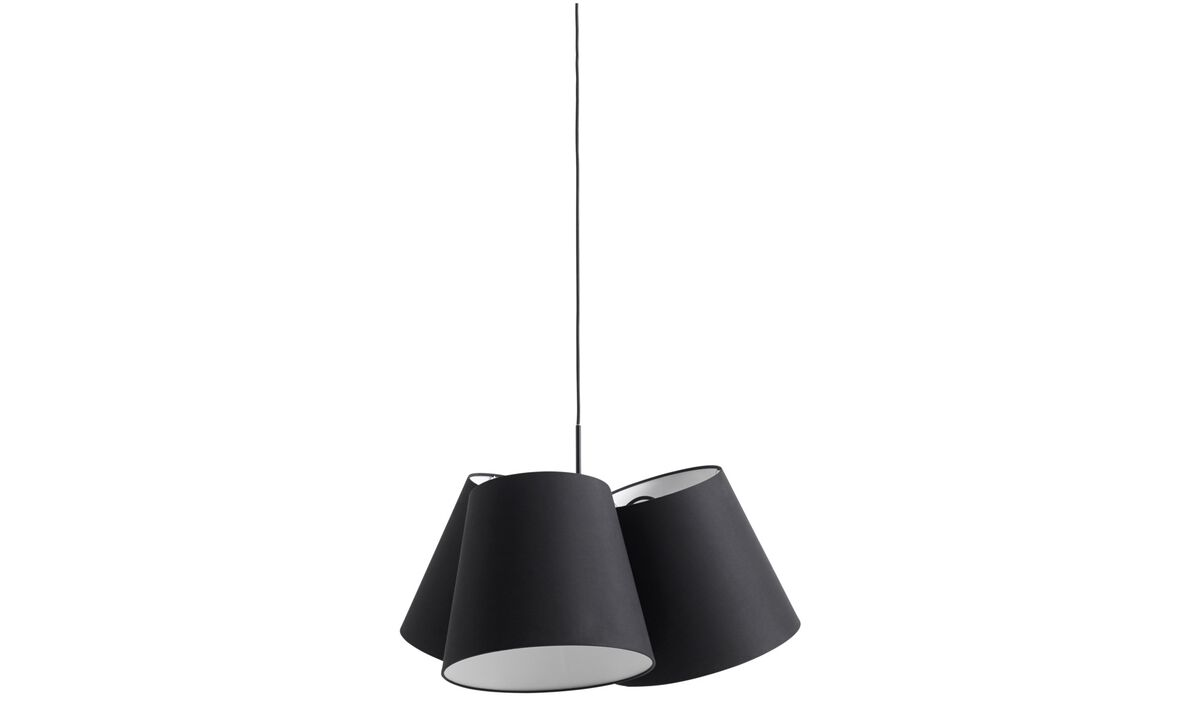 Luminaires - Suspension Three shade - Tissu