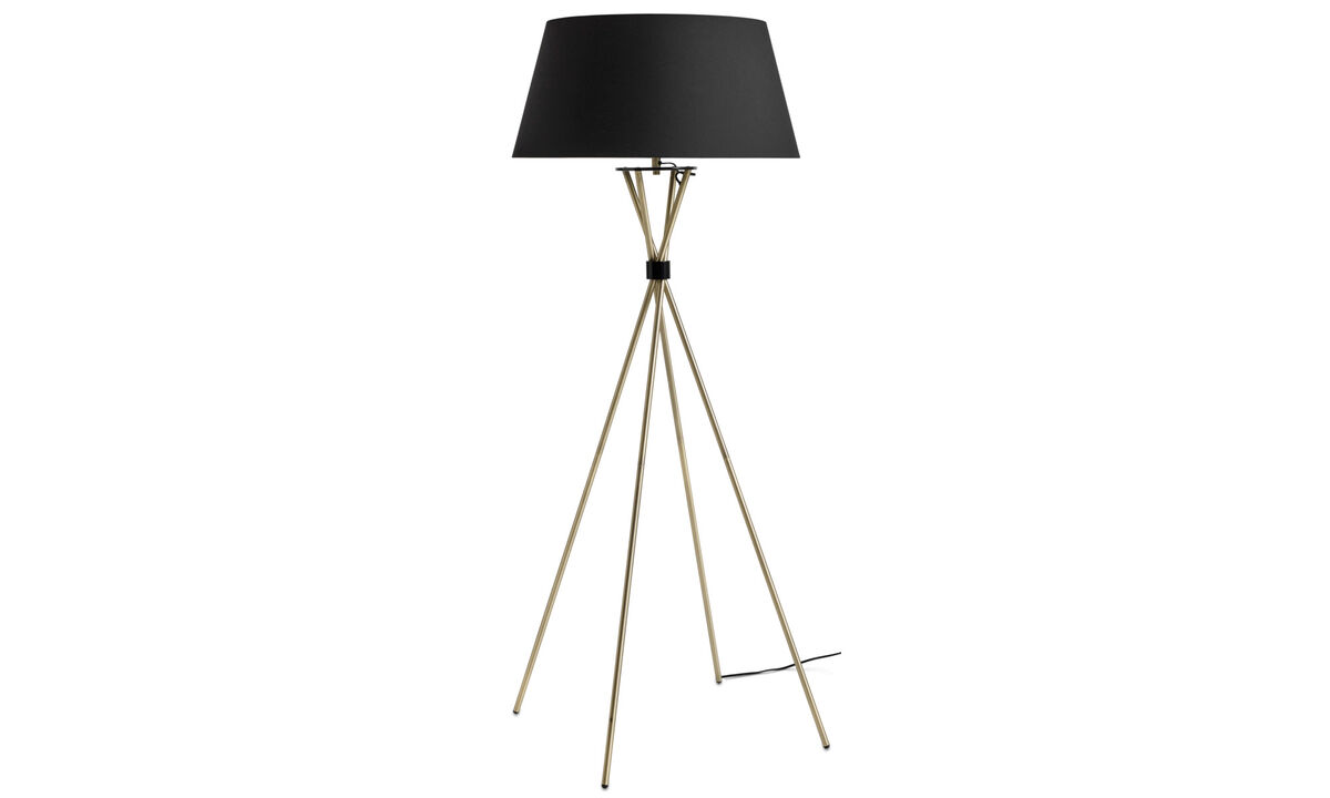 Lamps - Main floor lamp - Yellow - Metal