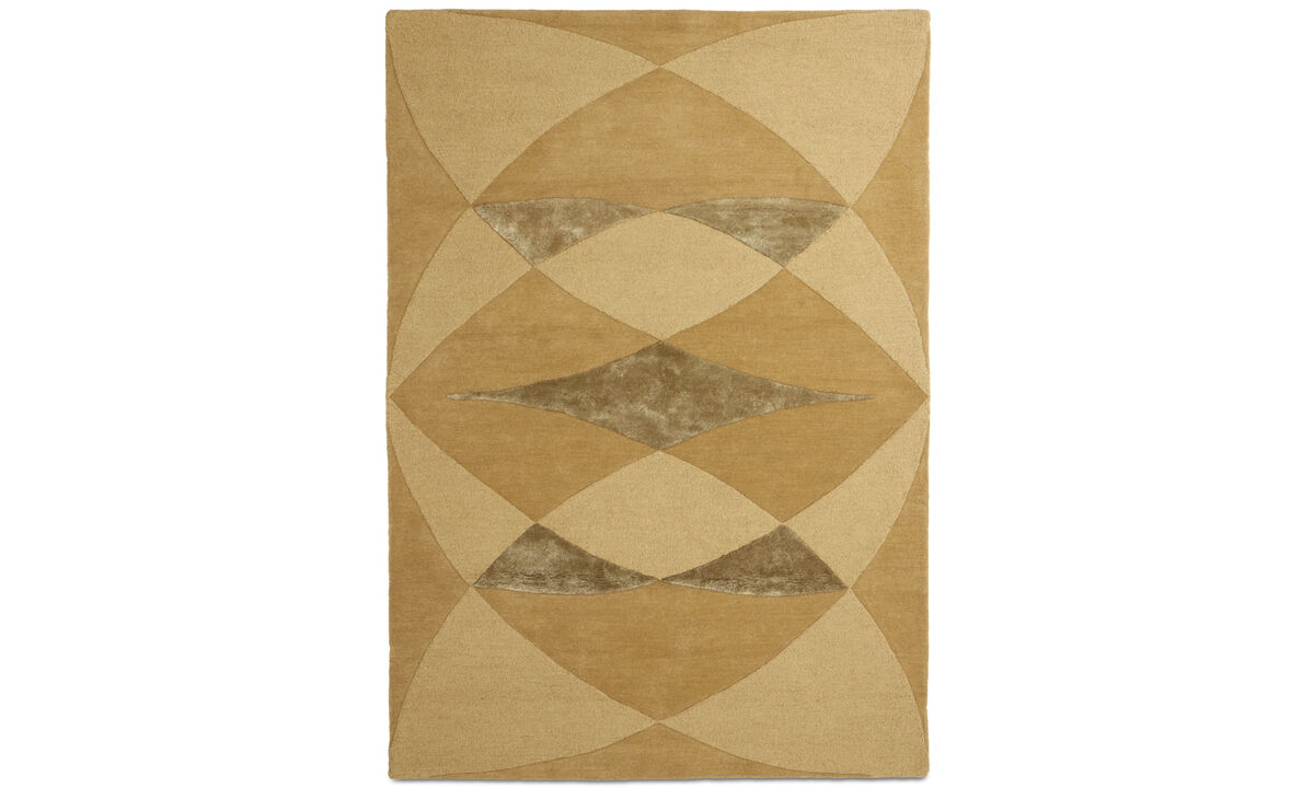 Rectangular rugs - Unison rug - rectangular - Yellow - Wool