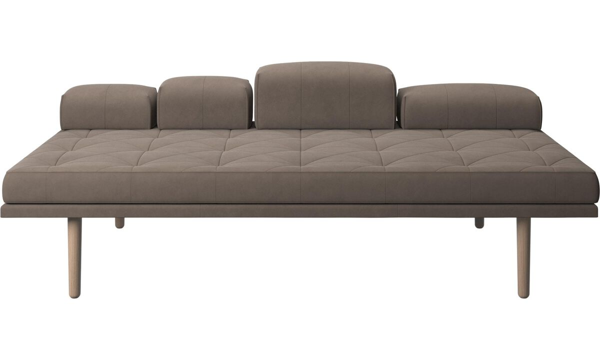 Daybeds - fusion day bed - Gray - Leather