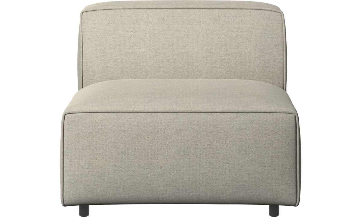 Armchairs - Carmo chair/basic unit - Beige - Fabric