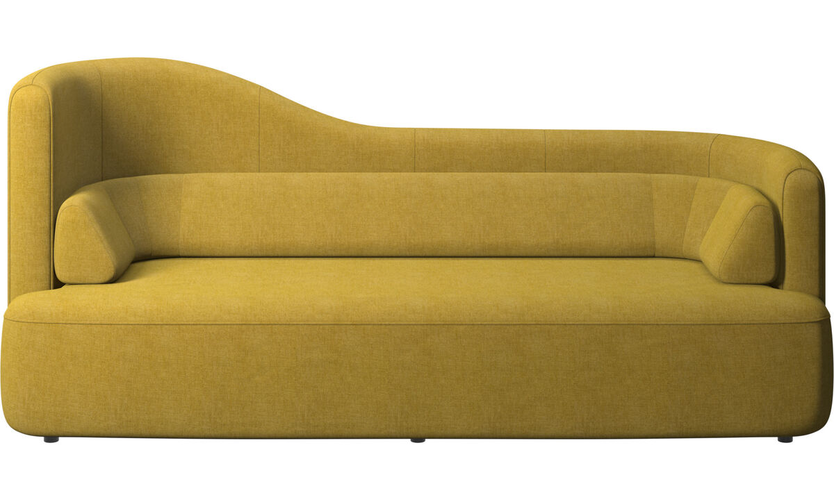 2.5 seater sofas - Ottawa sofa - Yellow - Fabric