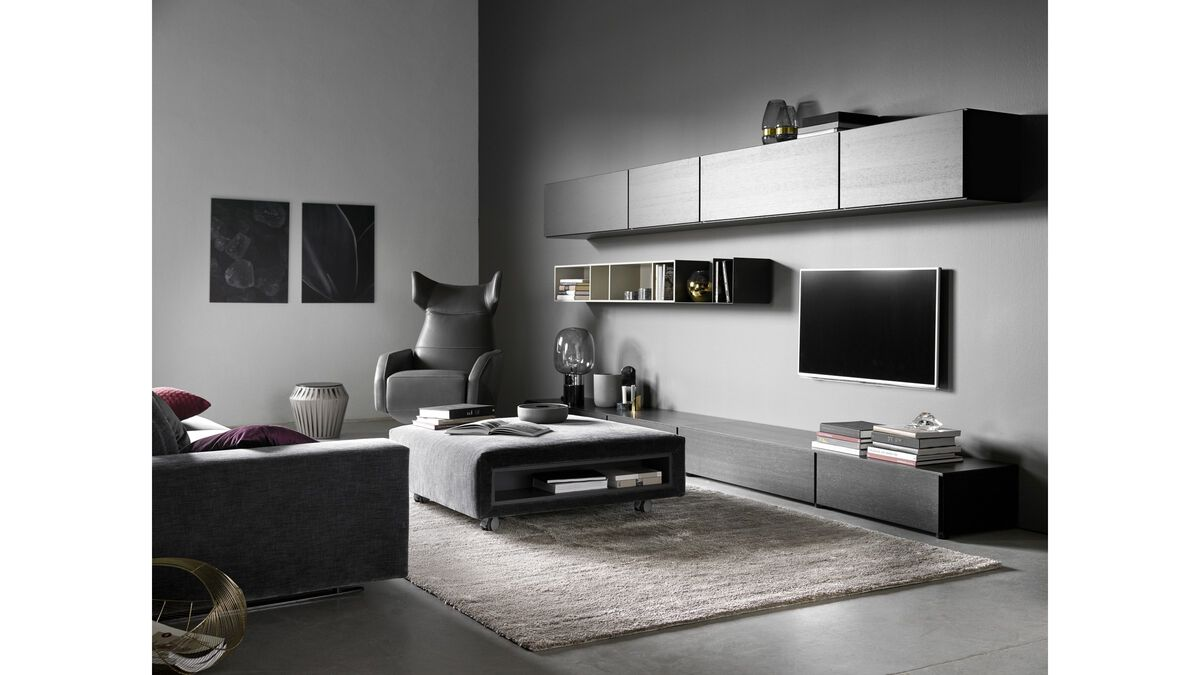 reoler lugano v gmonteret skab med drop down l ge. Black Bedroom Furniture Sets. Home Design Ideas