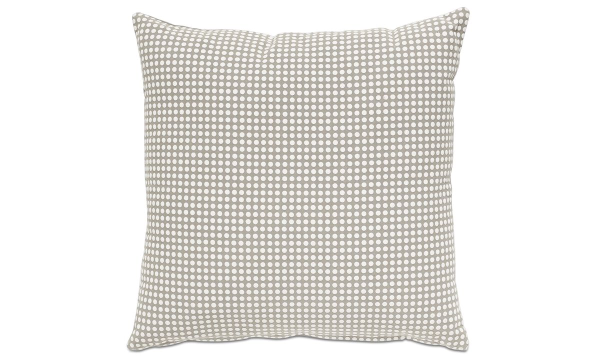 Cushions - Dot cushion - Grey - Fabric