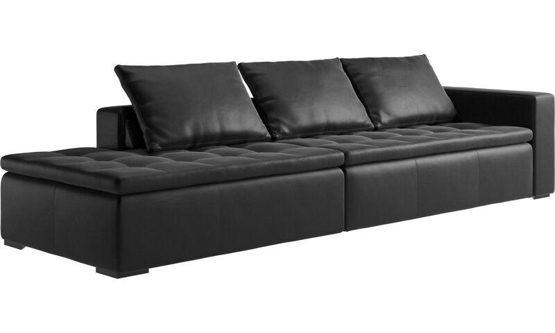 sofaer med hvilemodul mezzo sofa med loungemodul boconcept. Black Bedroom Furniture Sets. Home Design Ideas