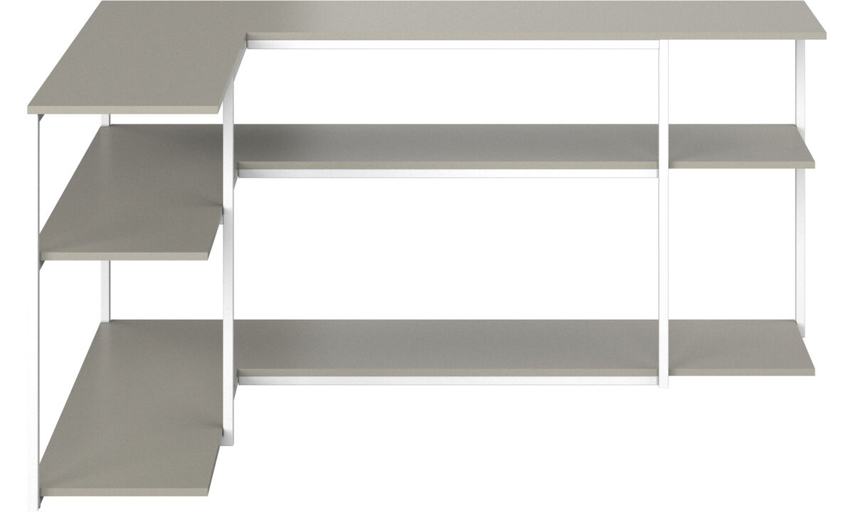 Wall systems - Bordeaux console table - rectangular - Grey - Lacquered