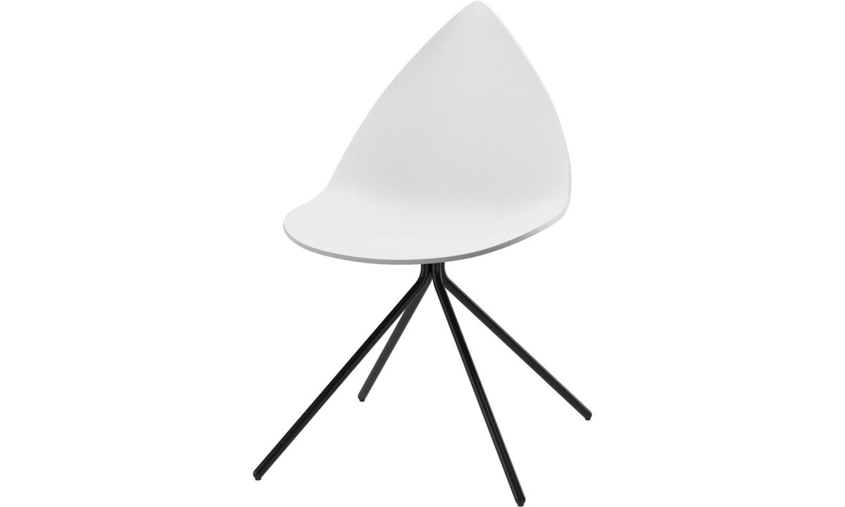 Dining chairs - Ottawa chair - White - Lacquered