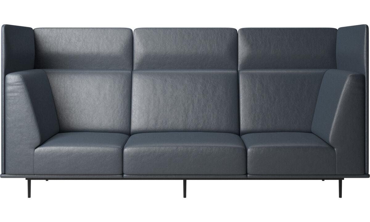 3 seater sofas - Toulouse sofa - Blue - Fabric