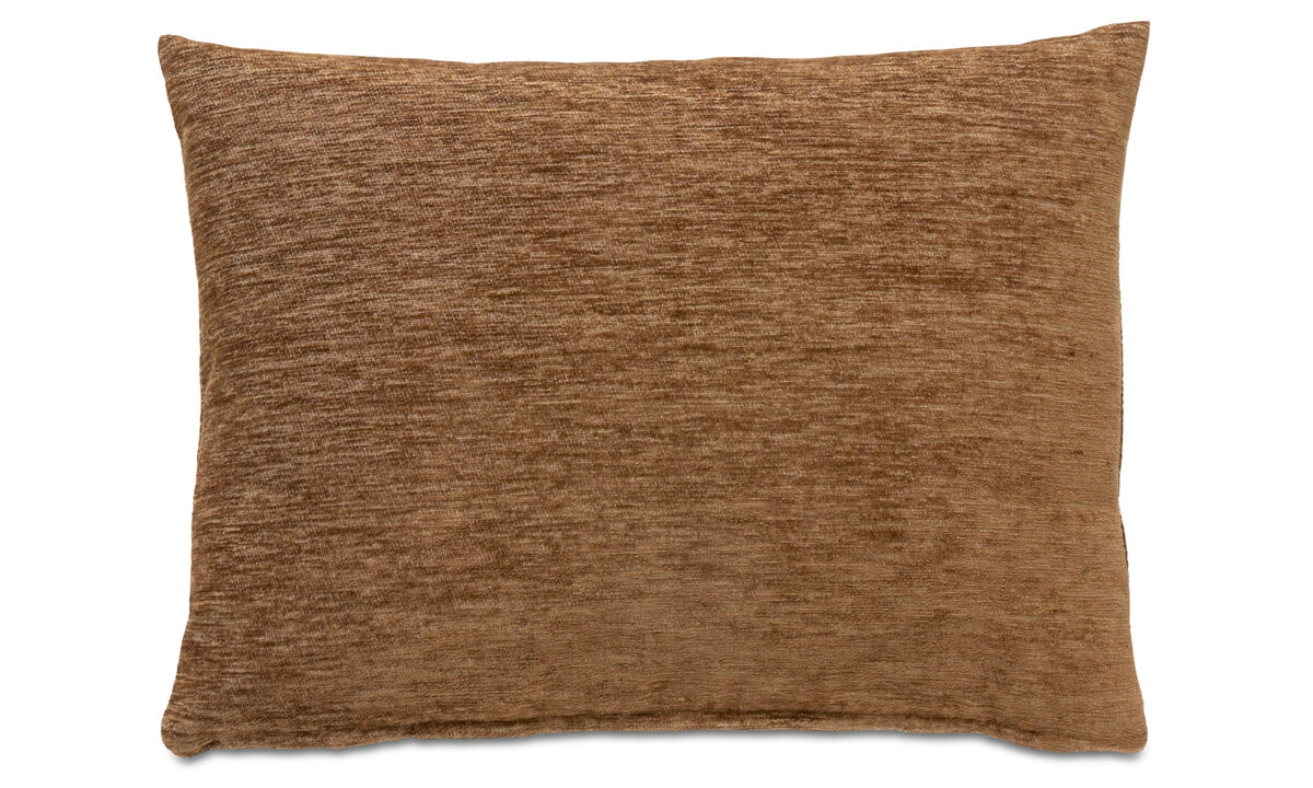 Patterned cushions - Waves cushion - Brown - Fabric
