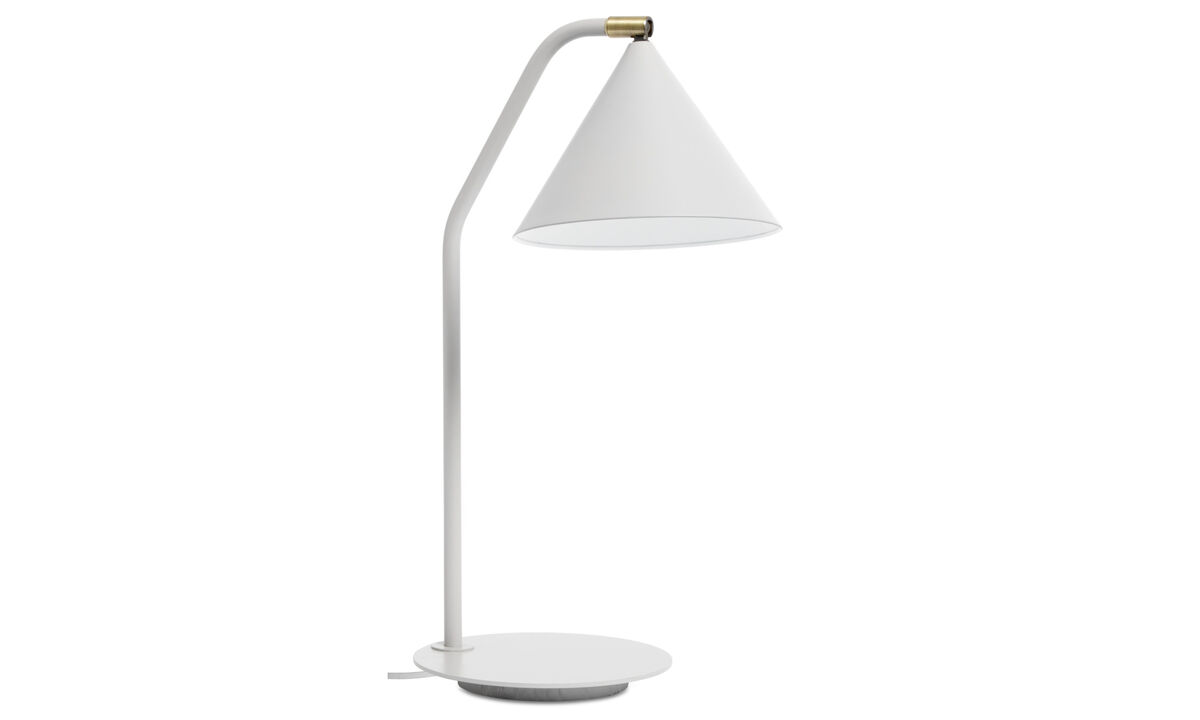 Luminaires - Lampe de table Holiday - Gris - Métal