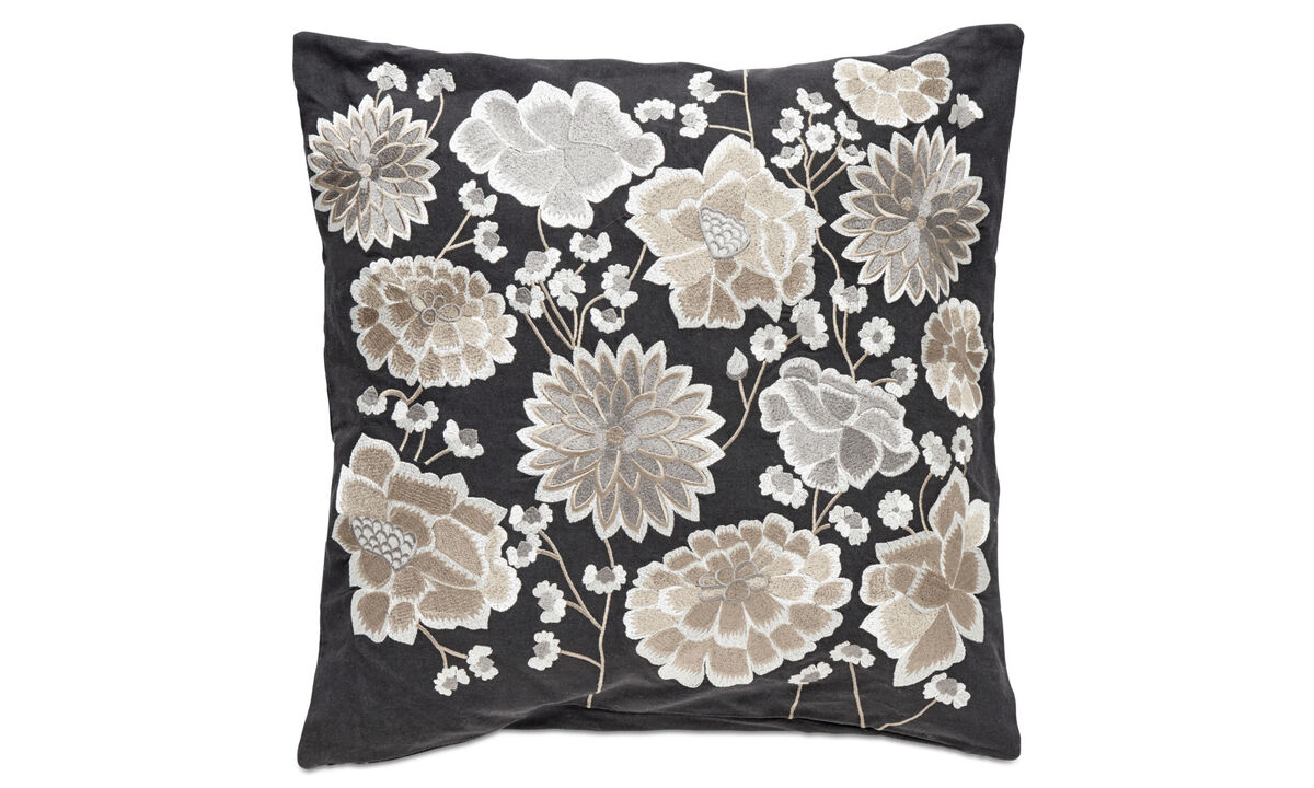 Patterned cushions - Concela cushion - Grey - Fabric
