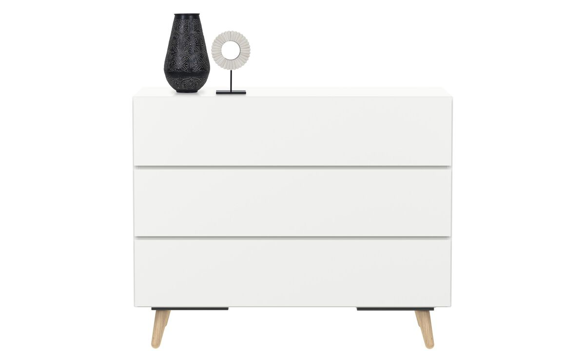 Chests of drawers - Lugano cassettone - Bianco - Laccato