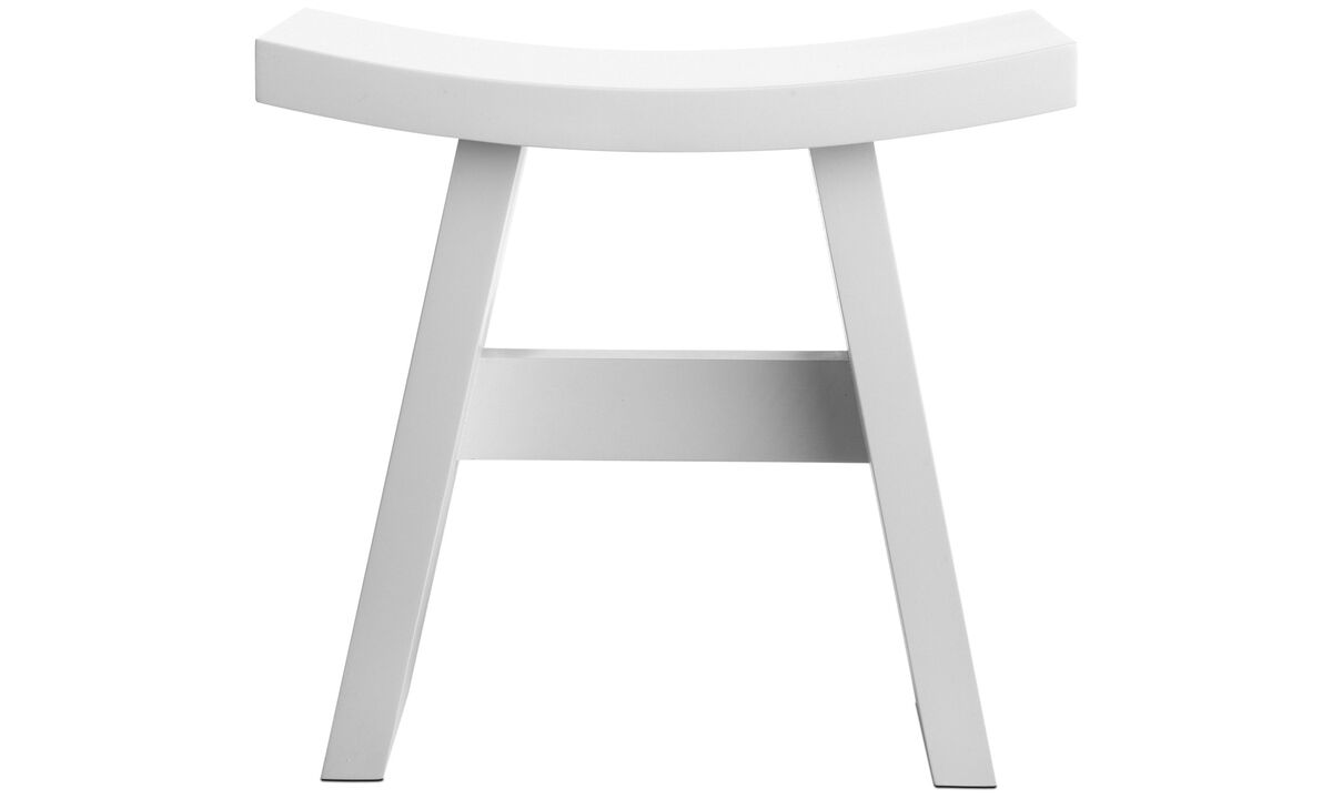 Stools - Shogun stool - White - Wood