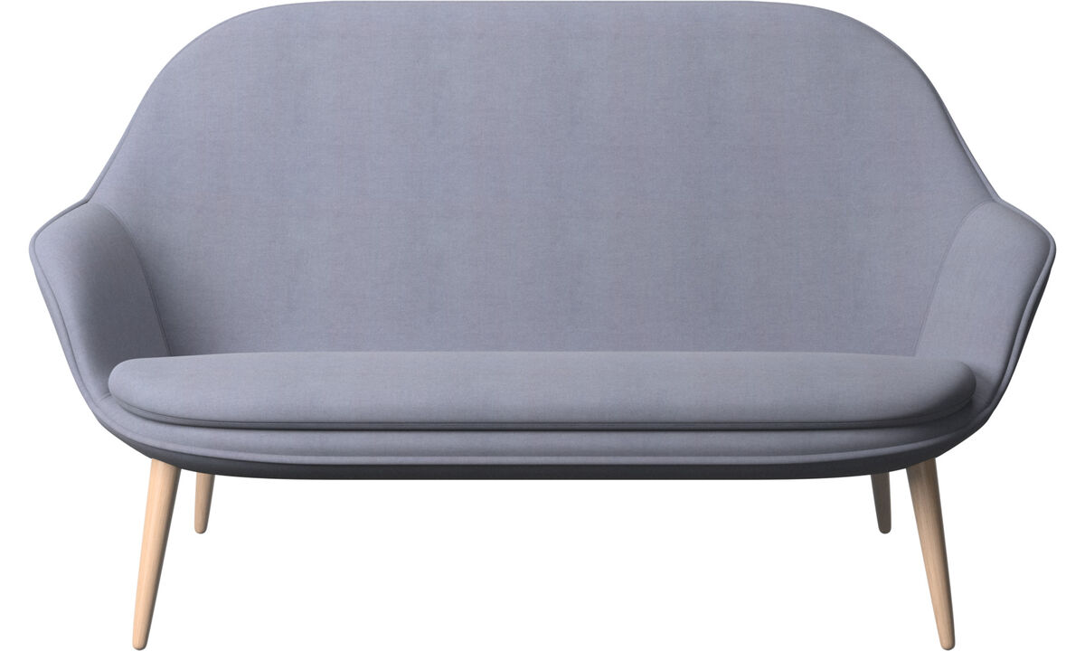 2 seater sofas - Adelaide sofa - Blue - Fabric