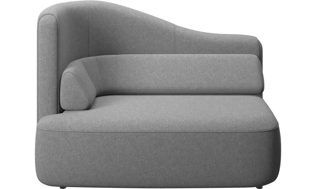 New designs - Ottawa 1,5 seater left arm - Grey - Fabric