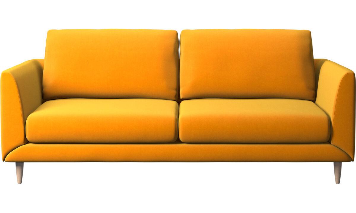 2.5 seater sofas - Fargo sofa - Orange - Fabric