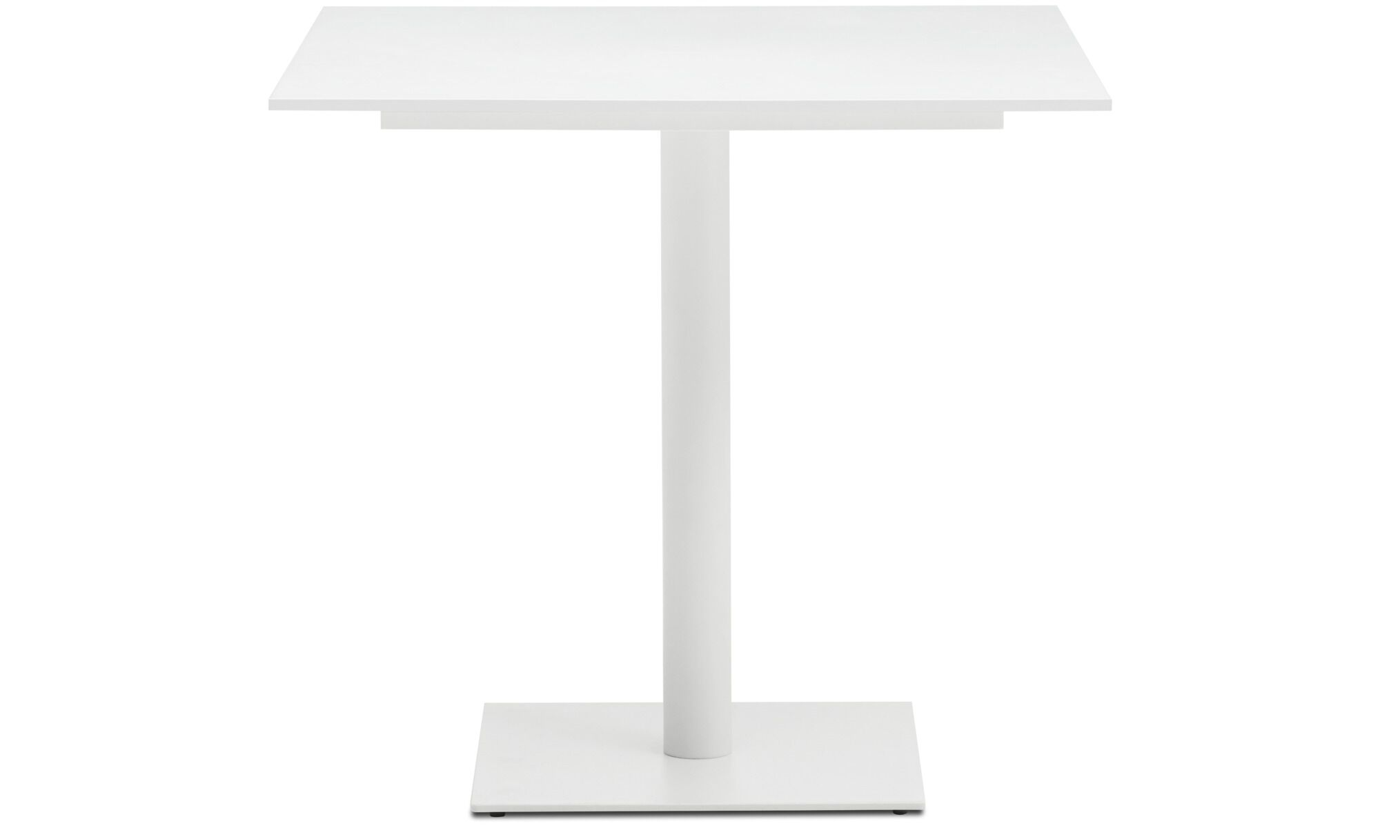 Merveilleux Dining Tables   Torino Table   Square   White   Lacquered