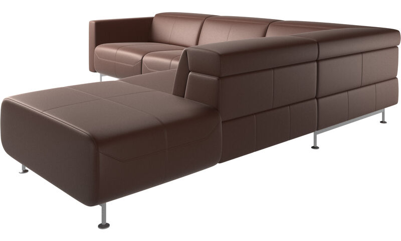 Recliner sofas - Parma reclining corner sofa with open end ...