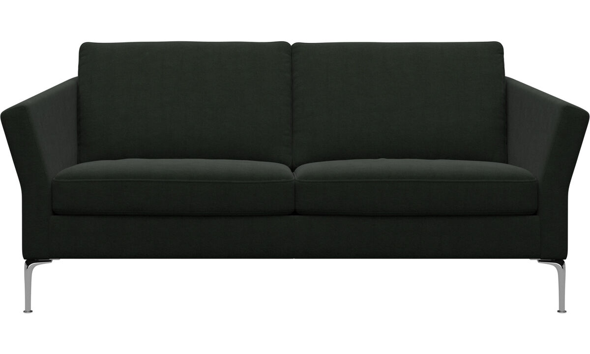 2.5 seater sofas - Marseille sofa - Green - Fabric