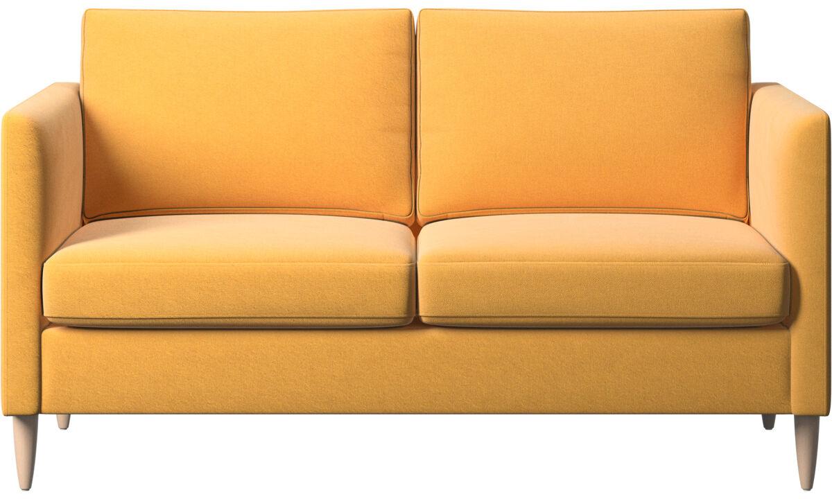 2 seater sofas - Indivi sofa - Yellow - Fabric
