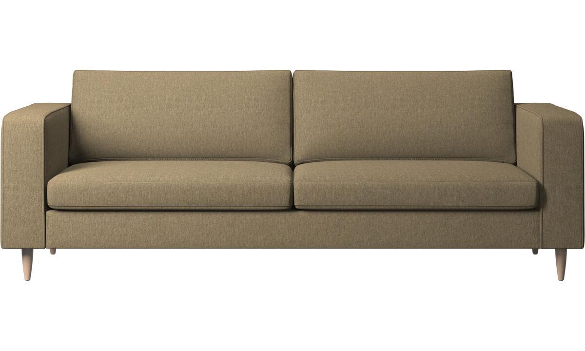 Háromszemélyes kanapék - Indivi kanapé - Zöld - Huzat