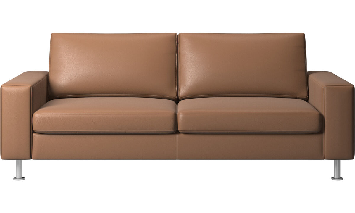 Sofa beds - Indivi sofa bed - Brown - Leather