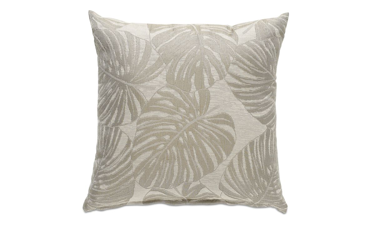 Puter - Monstera deliciosa cushion - Tekstil