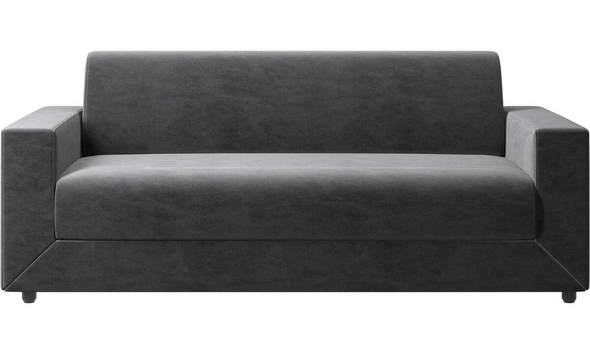 Sofa beds - Stockholm sofa bed - Grey - Fabric