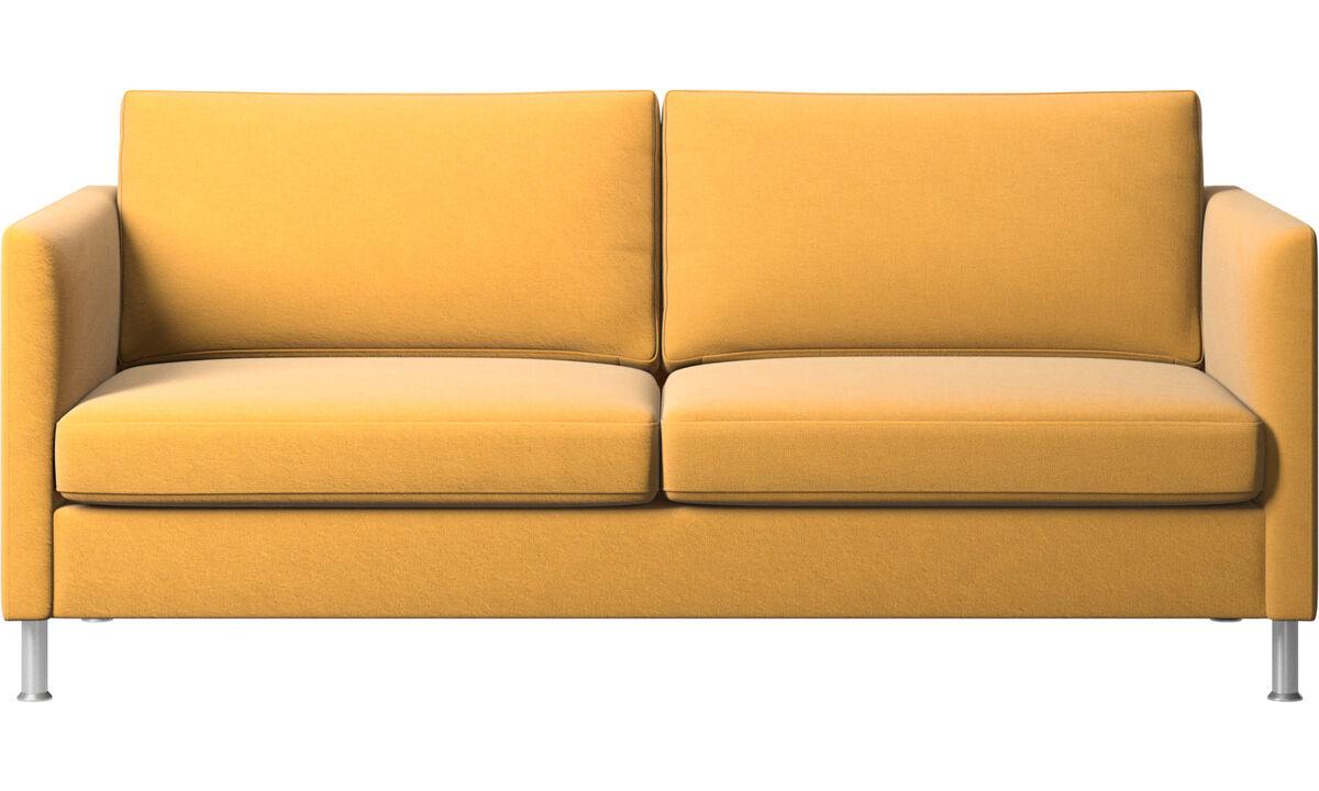 2.5 seater sofas - Indivi sofa - Yellow - Fabric