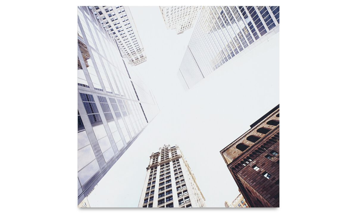 New designs - City metal prints, Manhattan - Metal