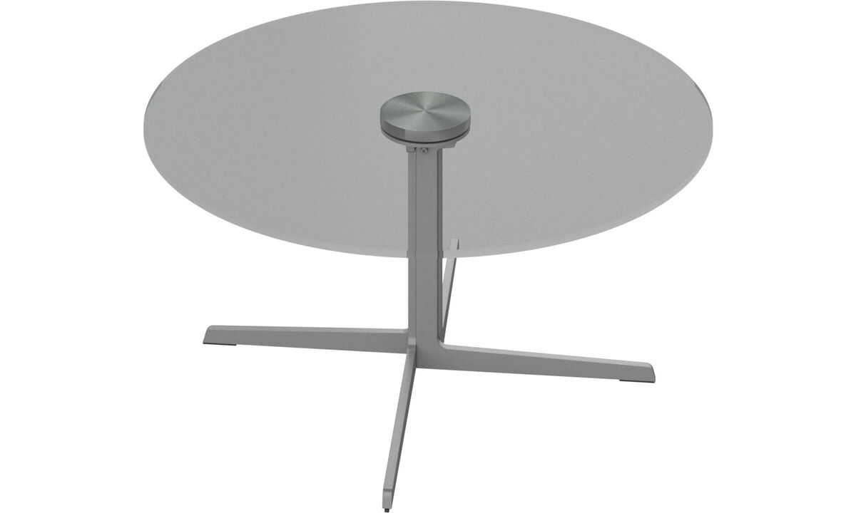 Coffee tables - Sevilla coffee table - round - Clear - Glass