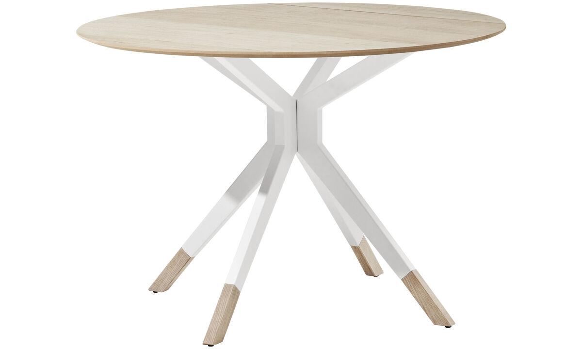 Mesas de comedor - mesa Billund - redondo - En marrón - Roble