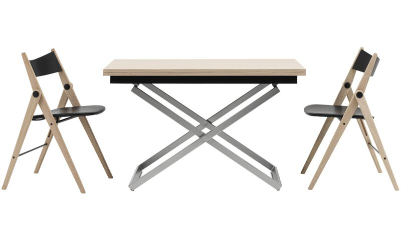 Tables basses table basse multifonction extensible rubi for Table basse multifonction